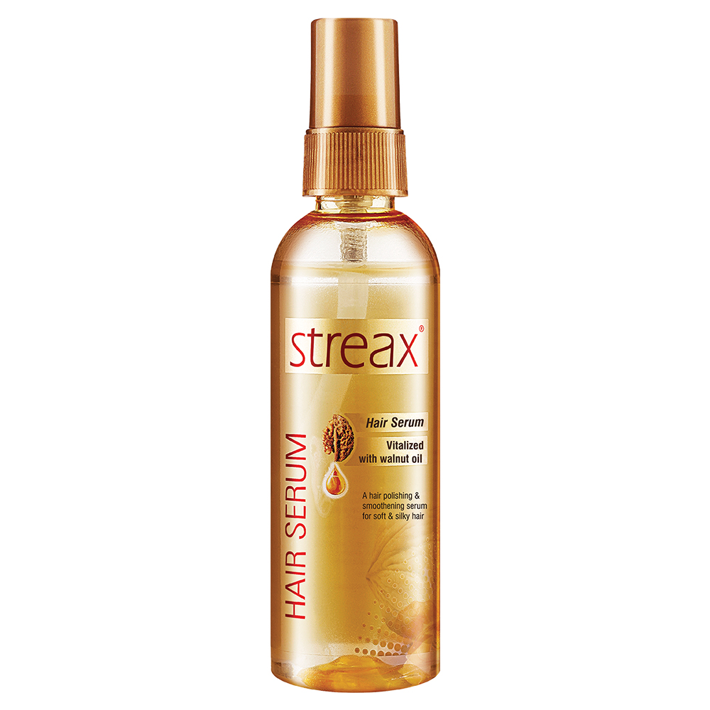 Streax Hair Serum Vitalised With Walnut Oil